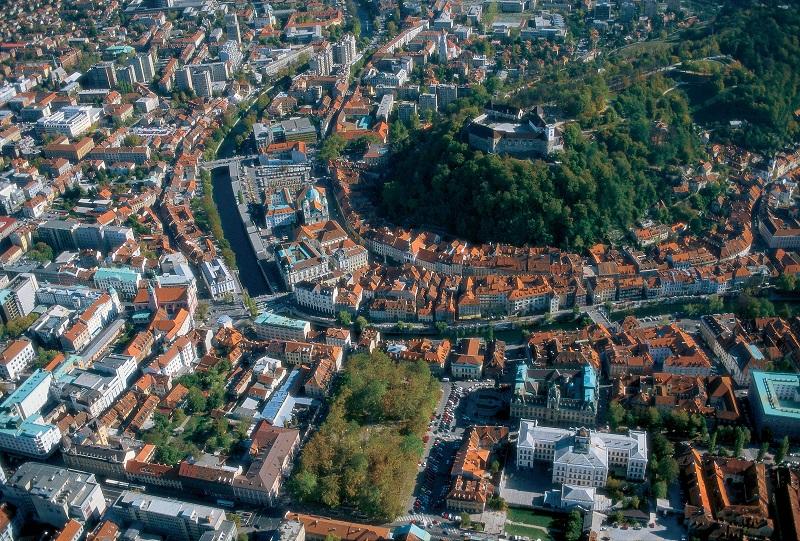Город Любляна фото