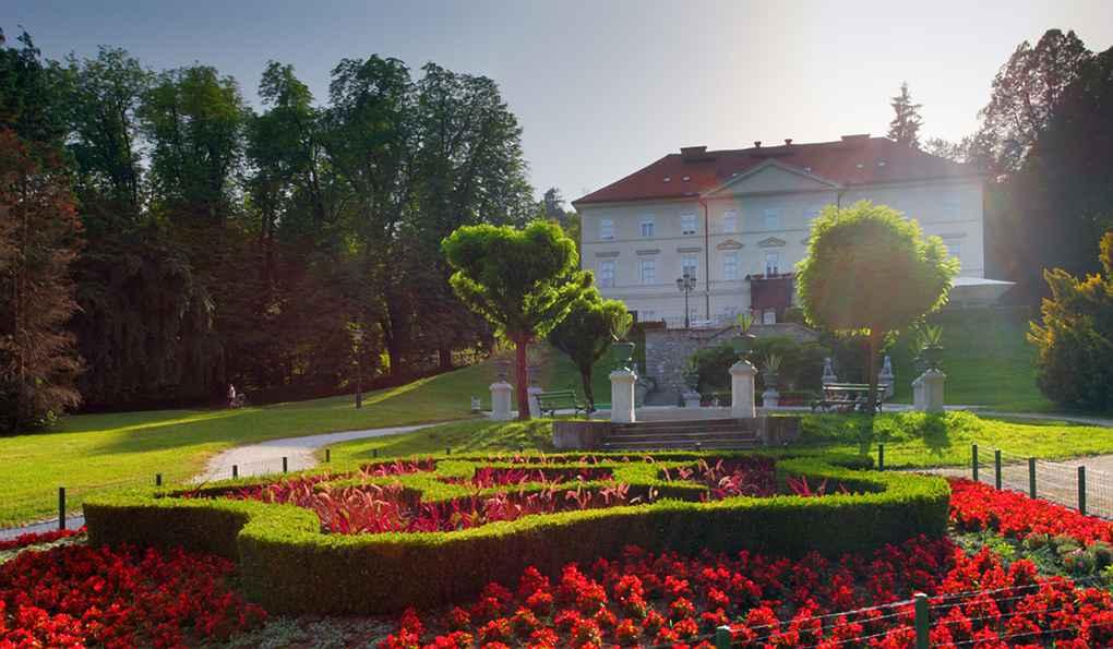 Любляны Парк Тиволи фото