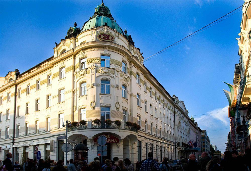 Любляны отель Grand Hotel