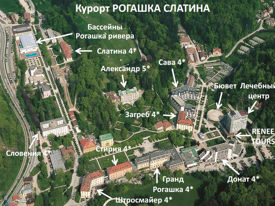 Rogashka Slatina отели